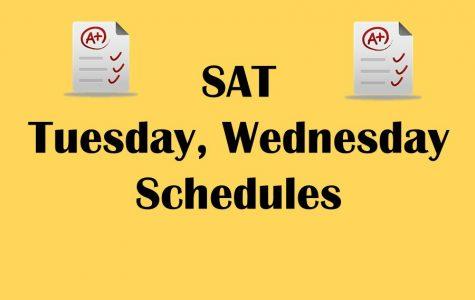 Kearsley's standardized testing schedule is set