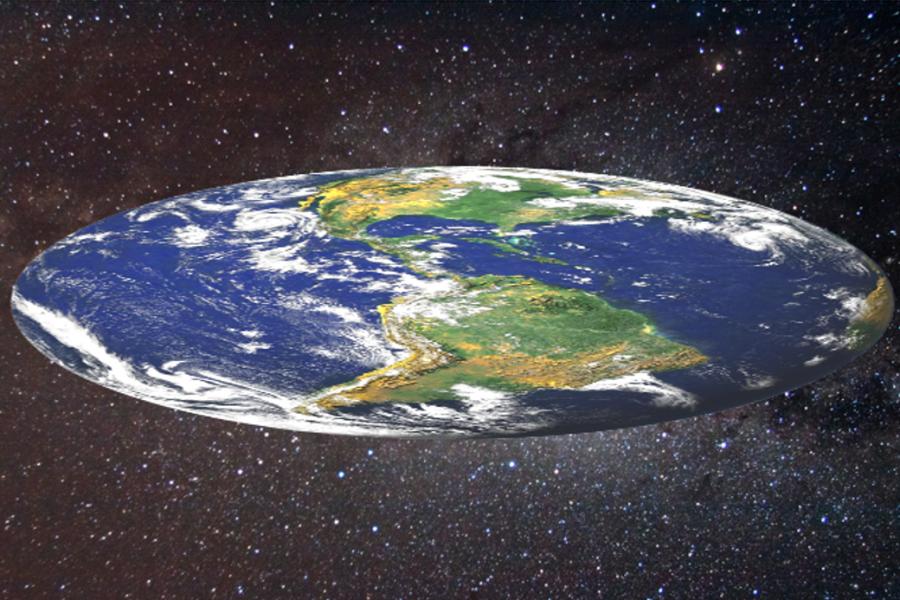 Flat Earth Theorie