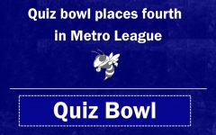 Quiz bowl finishes places fourth in Metro League tournament