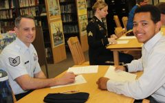 Juniors learn skills through mock interviews