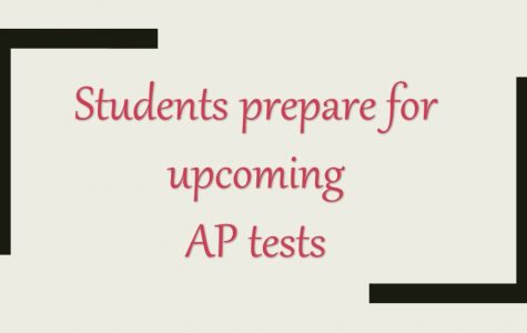 Students prepare for upcoming AP tests