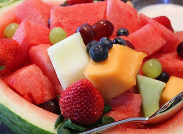 Strawberry-Melon Salad