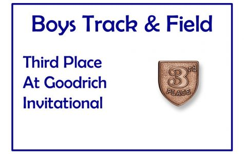 Boys track takes third at Goodrich