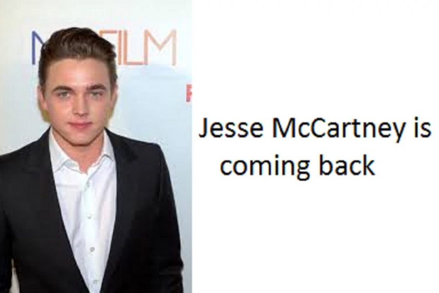 Jesse McCartney steps back into the spotlight with his new music.