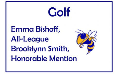 Bishoff earns All-League in golf, Smith named honorable mention