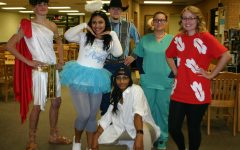 Seniors show creative flair for Halloween