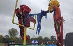 Freshmen show off creativity with Iron Man float