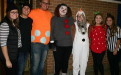 Seniors celebrate Halloween at KHS