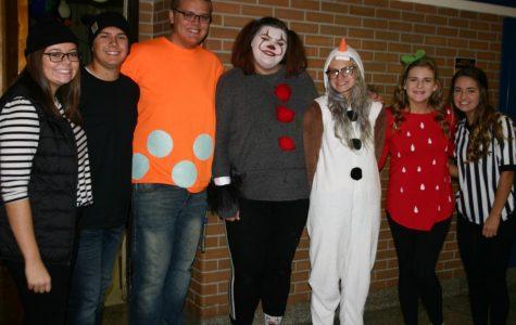 Seniors celebrate Halloween at KHS