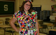 Prescott shows creativity with homemade costume