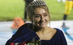 Staley crowned homecoming queen