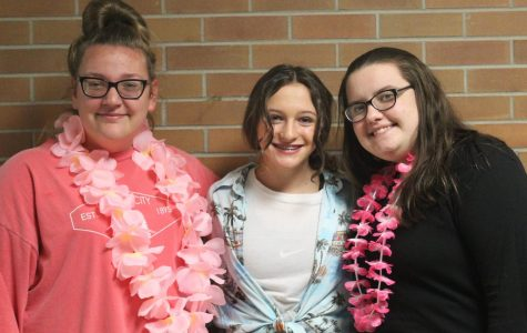Freshmen prove they have school spirit for homecoming week