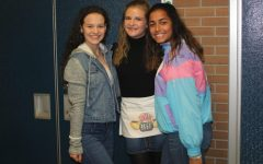Seniors show style on Throwback Thursday