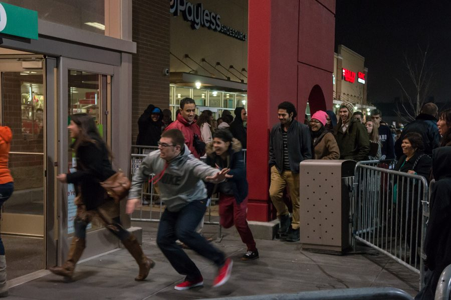 Crowds can be overwhelming on Black Friday.