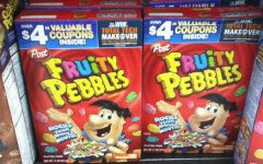 Pebbles cereal rocks for breakfast