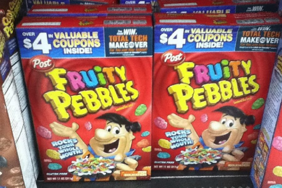 Pebbles is the No. 1 choice of breakfast cereals among Kearsley students.