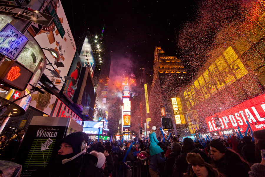 Many people see New Year's Day as a time to set personal goals and plans to improve their lives and those of others.