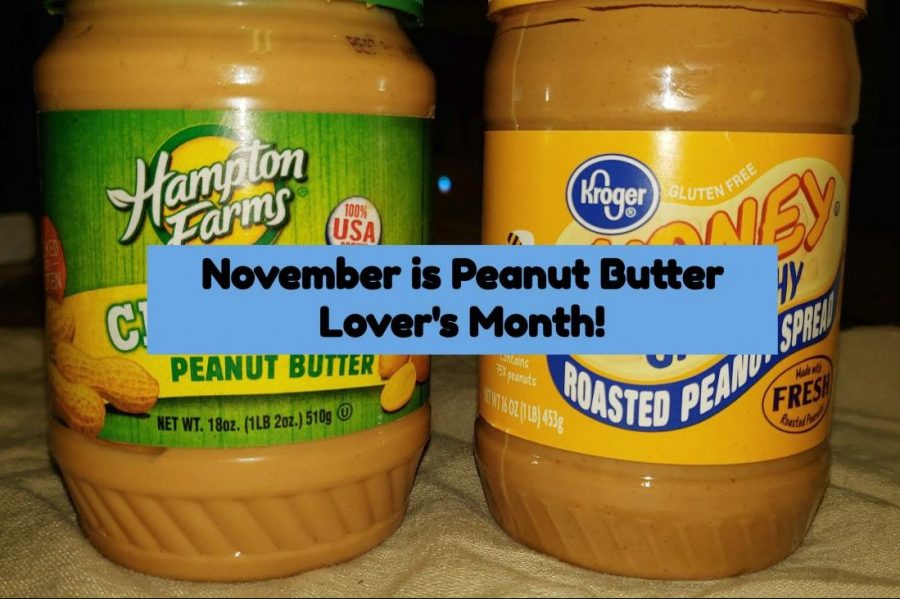 November represents Peanut Butter Lover's Month, which celebrates the nutty spread.