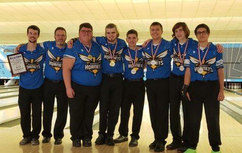 Boys bowling kicks off season with two victories, wins tournament