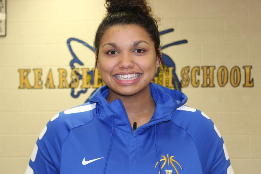 Senior Mackenzie Ramey was the top scorer for the Hornets on Tuesday, Dec. 19, against the Holly Bronchos.