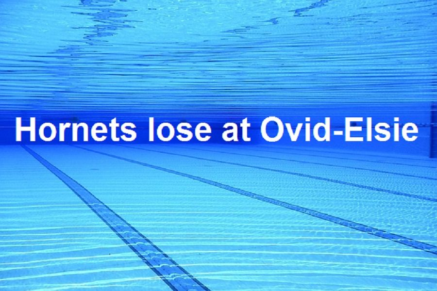 The swim team fell to Ovid-Elsie on Tuesday, Dec. 10.
