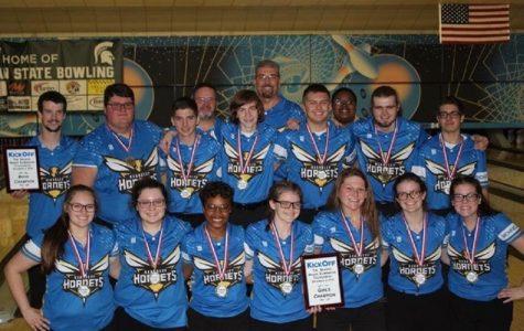 Girls bowling wins two league matches, Baker tournament