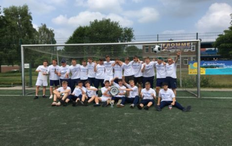 Ruedel hails from Germany, loves soccer