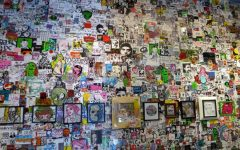 Students celebrate National Sticker Day