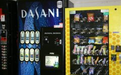 Students like sugary snacks in vending machines
