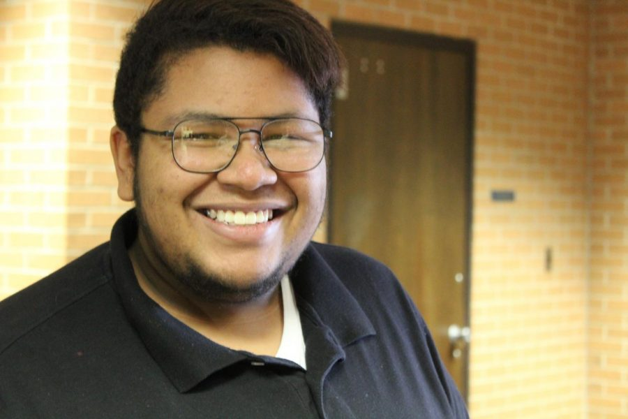 Senior Niccos Patrick's charisma and joy is uplifting to the students and staff at KHS.