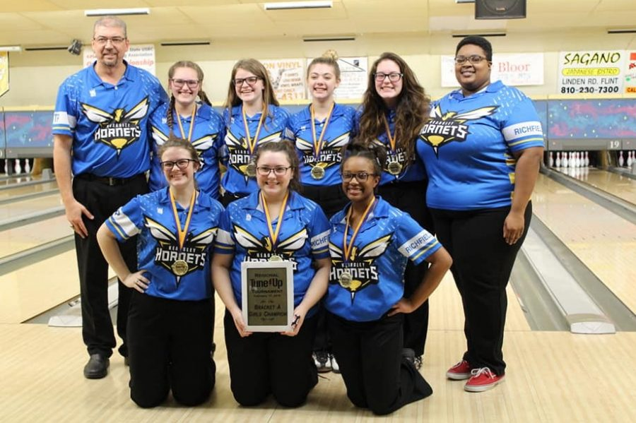 The girls bowling team won a regional tune-up tournament Sunday, Feb. 17 that it hosted. The Hornets are hungry for another regional and state title as they enter regional competition Friday, Feb. 22.