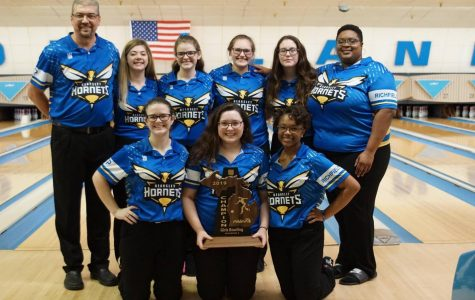 Girls bowling rolls its way to sixth regional title