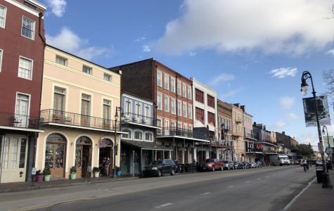 Students experience New Orleans