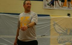 Staff beats seniors in volleyball showdown