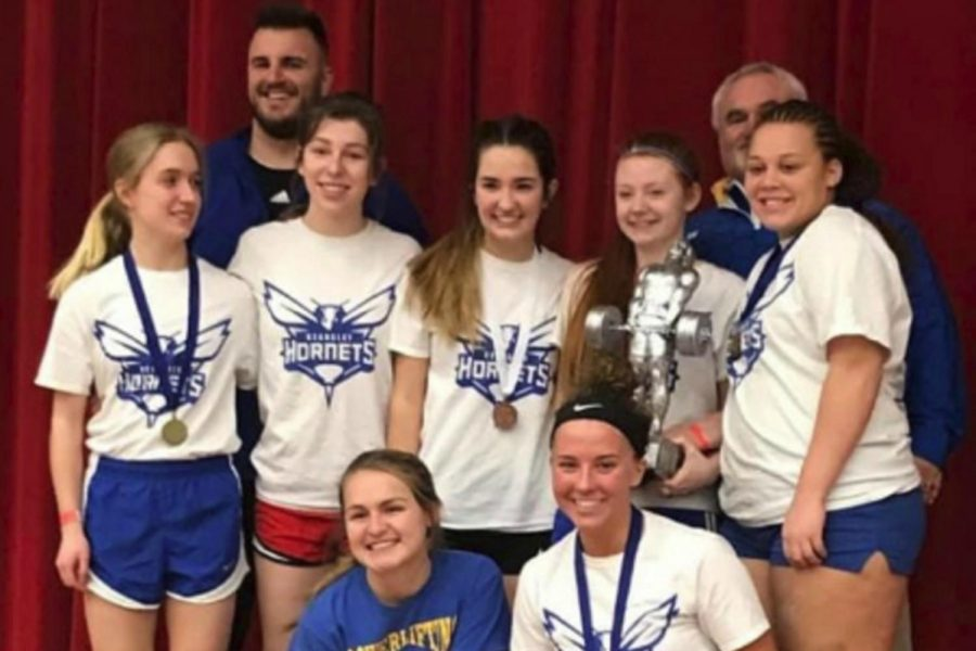 The+powerlifting+team+had+17+lifters+qualify+for+the+state+meet+at+the+Millington+regional+on+Jan.+26.