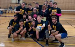 Seniors spike their way to powder tuff victory