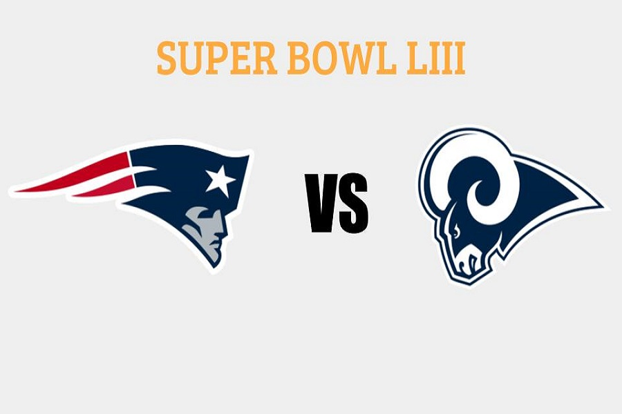 The New England Patriots and the Los Angeles Rams will face off in Super Bowl LIII on Sunday, Feb. 3.