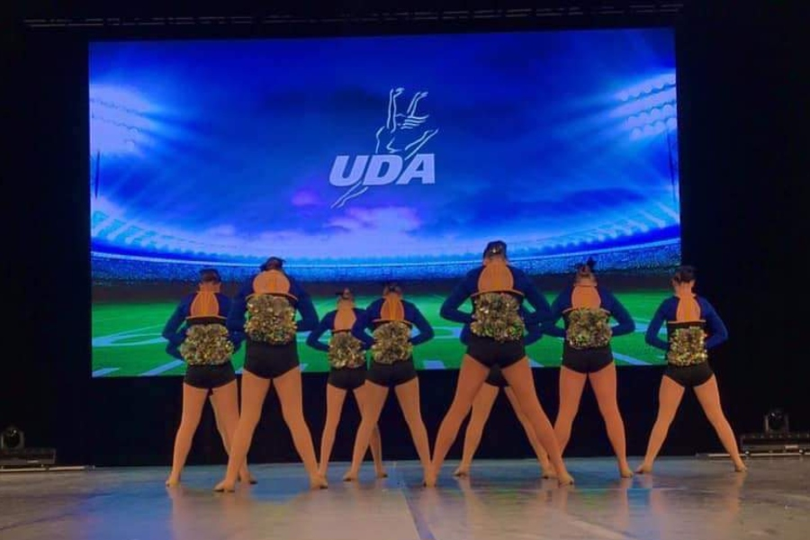 K-Motion performs its pom routine