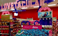 Stores are positively affected by Valentine's Day