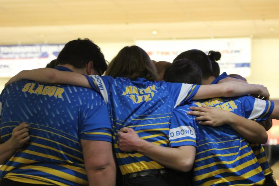 The boys bowling team was eliminated in the quarterfinal of the MHSAA Division 2 team final Friday, March 1.