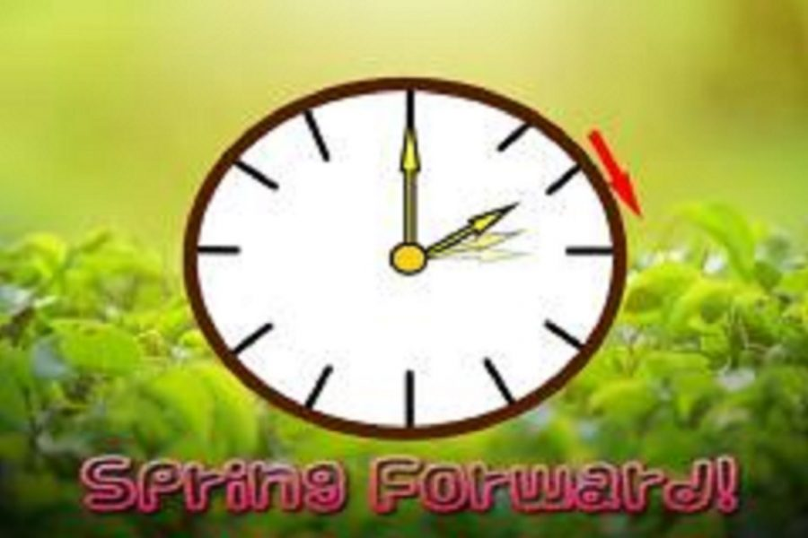 Daylight+Saving+Time+begins+Sunday%2C+March+10.+At+2+a.m.+time+will+spring+forward+to+3+a.m.