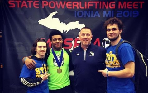 Harris wins powerlifting state title, Laney claims runner-up