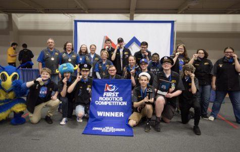 Robotics wins Kettering district event