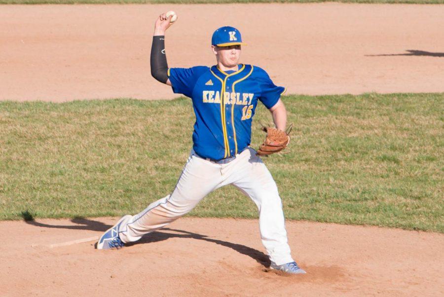 Sophomore Kody Easton is one of the key returners for the 2018-2019 baseball season.