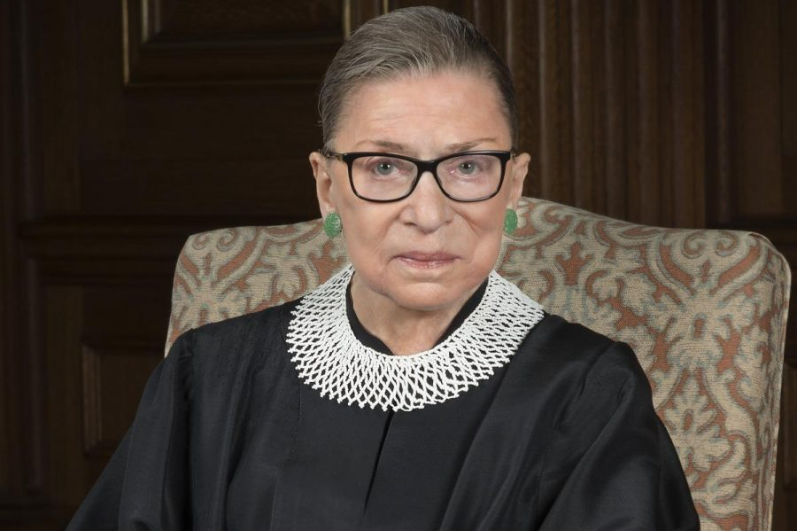 U.S.+Supreme+Court+Justice+Ruth+Bader+Ginsburg+is+an+activist+for+women%27s+rights.