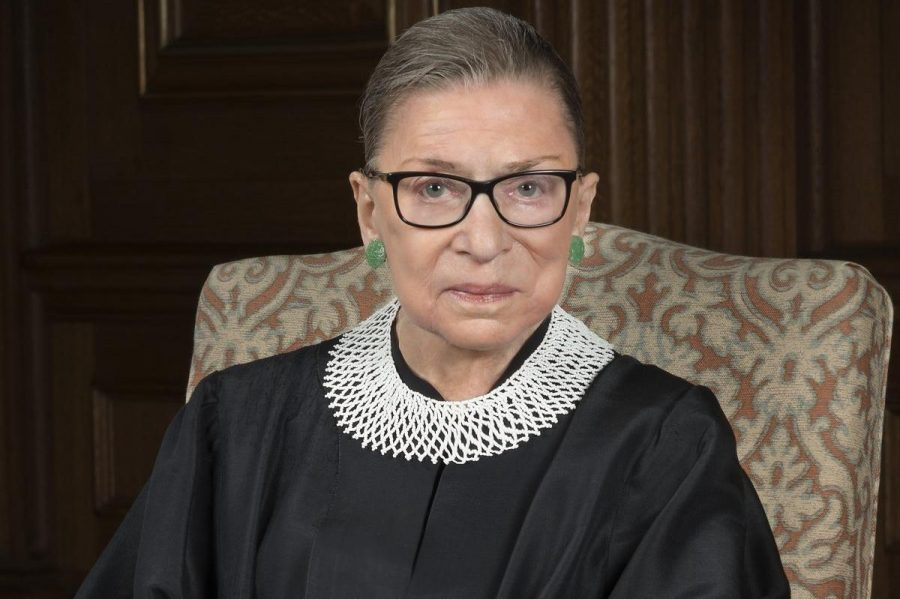 U.S. Supreme Court Justice Ruth Bader Ginsburg is an activist for women's rights.