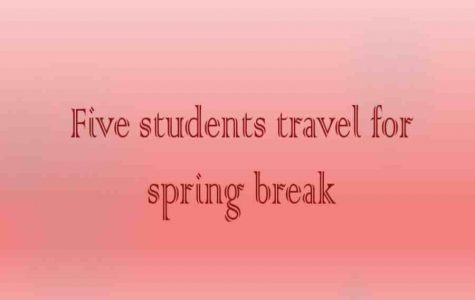 Five students share their spring break plans