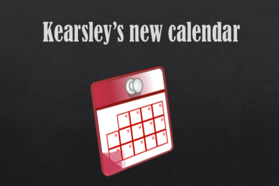 Kearsley's schedule has been changed due to snow days in the 2018-19 school year.