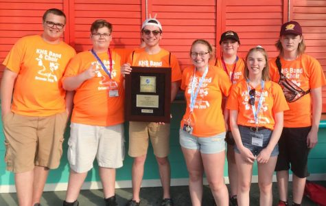 Band hits the right notes, places second at Universal