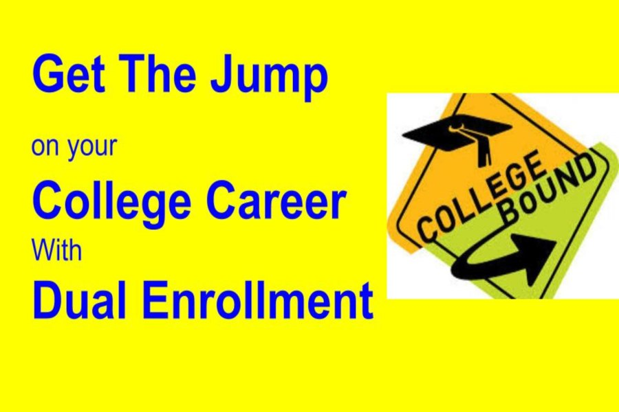 Students have the opportunity to start college early with KHS' dual enrollment program.